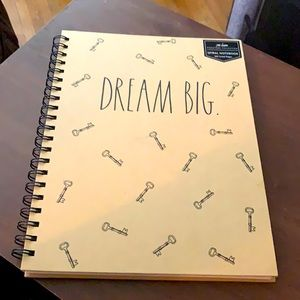 Rae Dunn Spiral Notebook 160pages